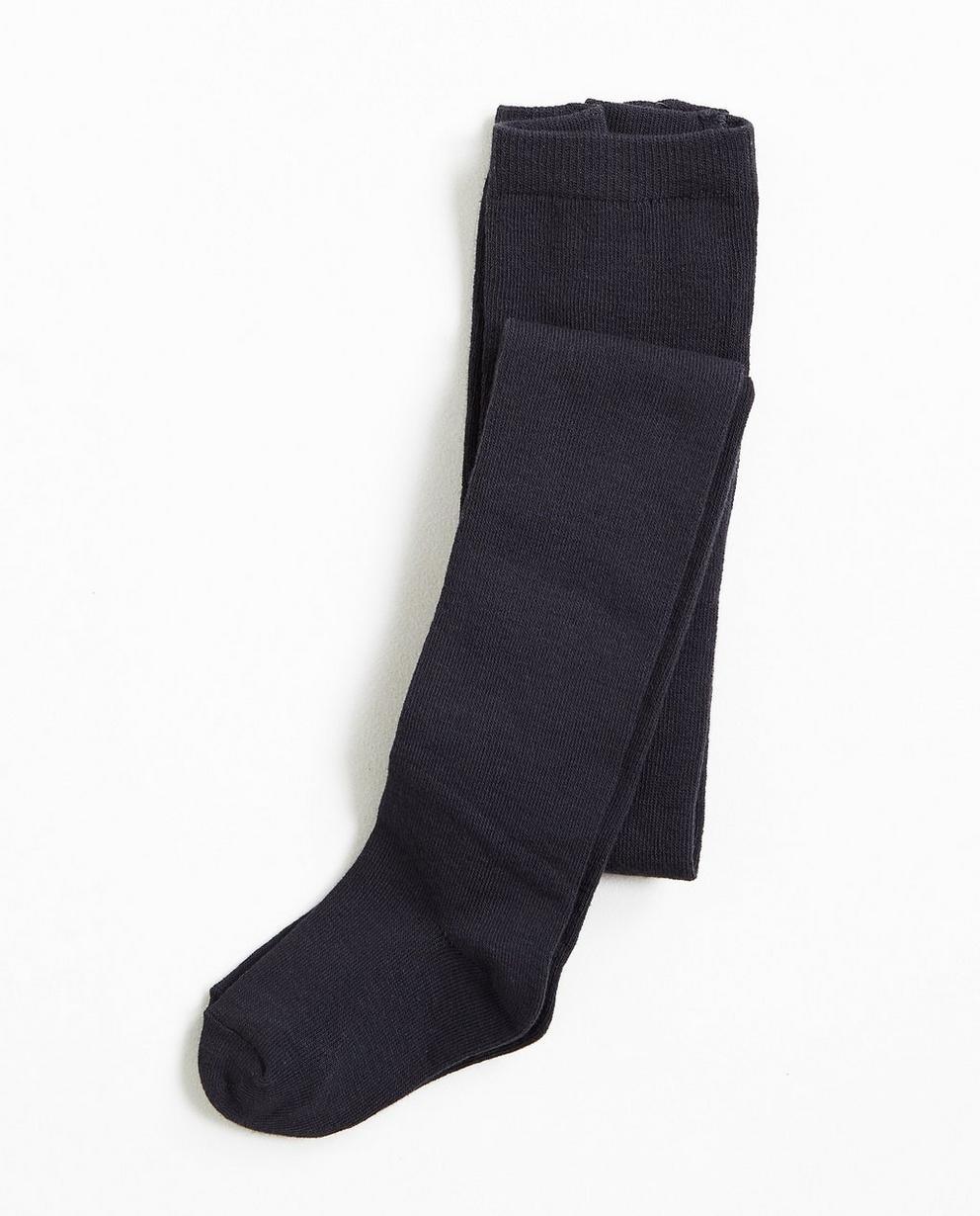 Collant bleu nuit - culotte renforcée - K3